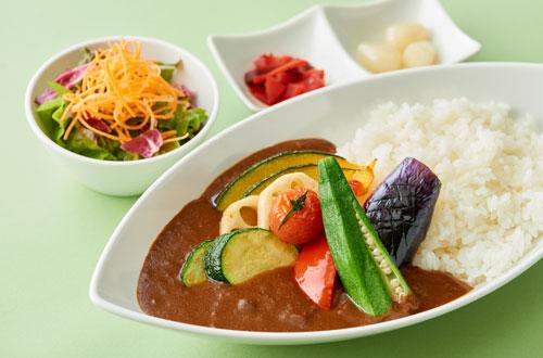 7種のたっぷり野菜カレー