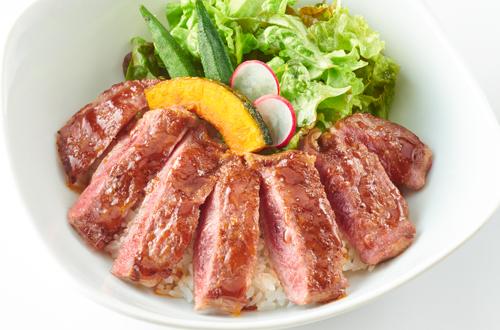 贅沢ステーキ丼