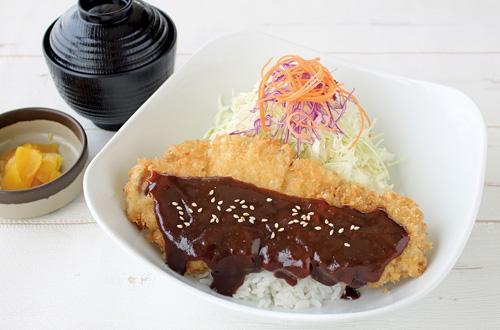 3月限定メニュー名古屋風味噌カツ丼